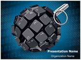 Cyber Terrorism Editable PowerPoint Template