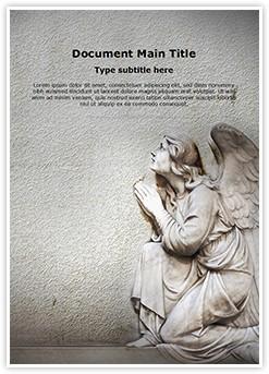 Guardian Christian Angel Editable Word Template