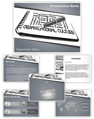 Organizational Culture Editable PowerPoint Template
