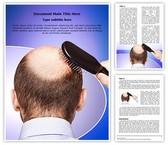 Bald Human Alopecia Template