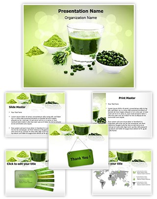 Antioxidants Food Editable PowerPoint Template