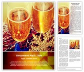Celebration Champagne Toast Template