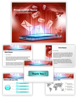 Modern Communication Editable PowerPoint Template