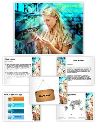 Checking Product Details Editable PowerPoint Template