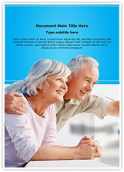 People Retirement Editable Word Template