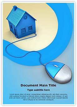 Mortgage Real Estate Editable Word Template