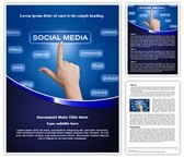 Buzz Marketing Social Sharing Template