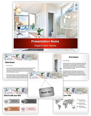 Bathroom Editable PowerPoint Template