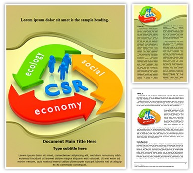 CSR Lifecycle Editable Word Document Template