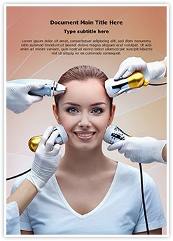 Cryolifting Mesotherapy Editable Word Template