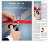 Ribbon Cutting Inauguration Template
