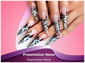 Nails Manicure PowerPoint Templates