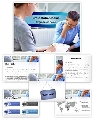 Psychology Therapy Editable PowerPoint Template