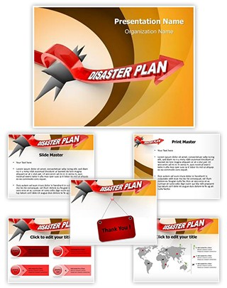 Disaster Plan Editable PowerPoint Template