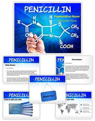 Penicillin Editable PowerPoint Template