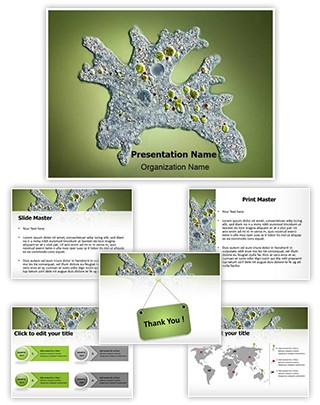 Amoeba Editable PowerPoint Template