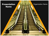 Escalator Editable PowerPoint Template