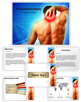 Neck Pain Editable PowerPoint Template