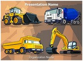 Industrial Construction Machine Template