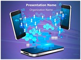 Mobile Network Technology Editable PowerPoint Template
