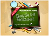 School Education Editable PowerPoint Template