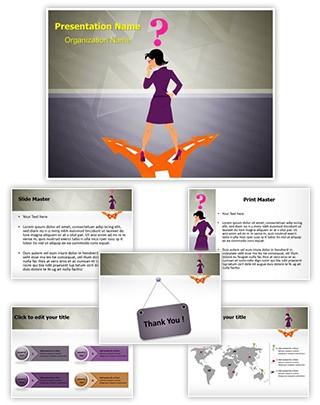 Strategic Business Decision Editable PowerPoint Template