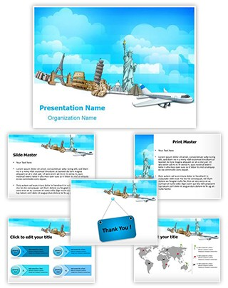 Tourism Historical Monument Editable PowerPoint Template