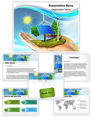 Professional Renewable Energy Editable PowerPoint Template