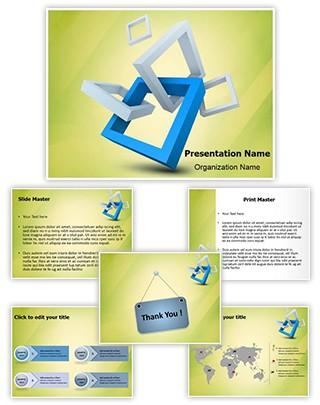 Visual Branding Logo Design Editable PowerPoint Template