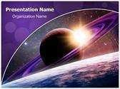 Planet Saturn Editable PowerPoint Template