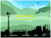 Agriculture Cultivation Editable PowerPoint Template