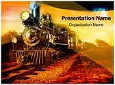 Steam Engine Editable PowerPoint Template