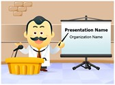 General Practitioner Presenting PowerPoint Templates