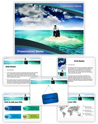 Business Trouble Editable PowerPoint Template