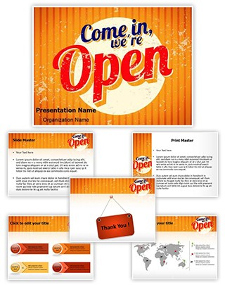 Retail Selling Service Editable PowerPoint Template