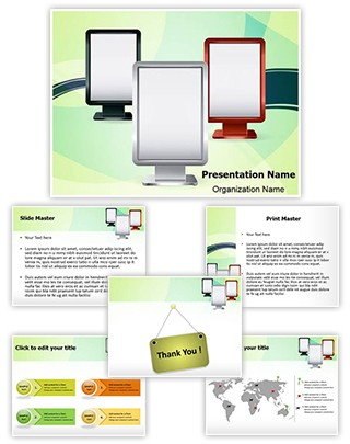 Stand Display Editable PowerPoint Template