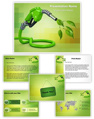 Natural Biofuel Editable PowerPoint Template