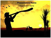 Aboriginal Population Editable PowerPoint Template