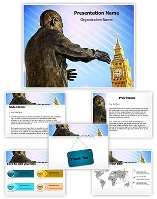 Nelson Mandela Editable PowerPoint Template
