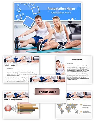 Physical Exercise Editable PowerPoint Template