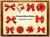 Gift Bows And Ribbons Template