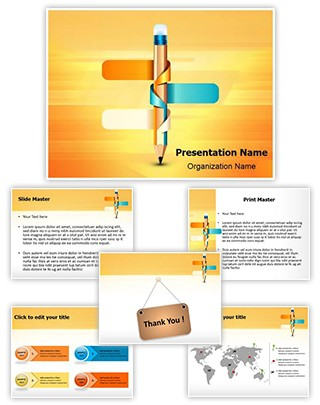 Infographics Editable PowerPoint Template
