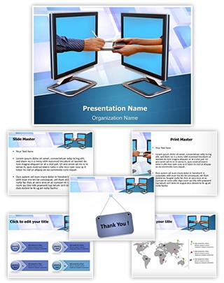 Digital Signature Editable PowerPoint Template