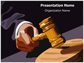 Legal Trial Editable PowerPoint Template