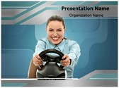 Game Steering Wheel Editable PowerPoint Template