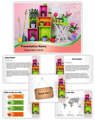 Home Decoration Editable PowerPoint Template