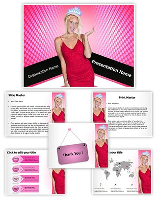 Pageant Editable PowerPoint Template