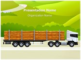 Commercial Logging Truck Template