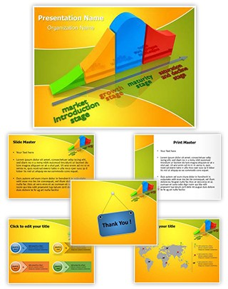 Product Life Cycle Editable PowerPoint Template