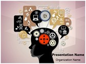 Education Cognitive Mental Processes Editable PowerPoint Template
